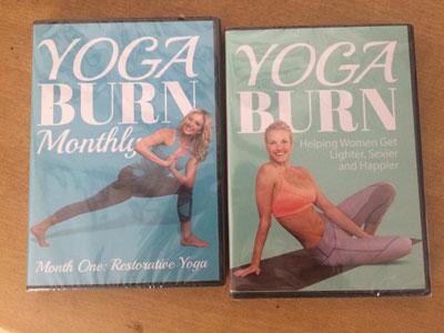 Yoga Burn Zoe Bray Cotton DVD