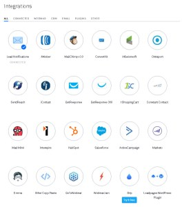 Leadpages Integration
