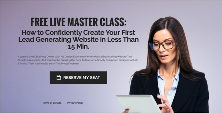 Free Live Master Class