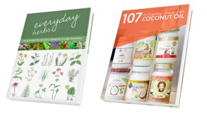 Everyday Herbs & Coconut Oil Books