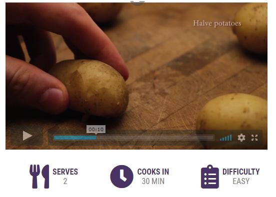 cooking tutorial video