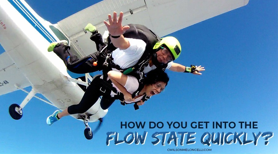 how to get into flow state quickly