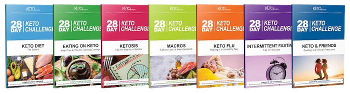 28 Day Keto Challenge Books