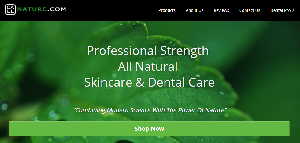 Call Nature Dental Pro 7 Website