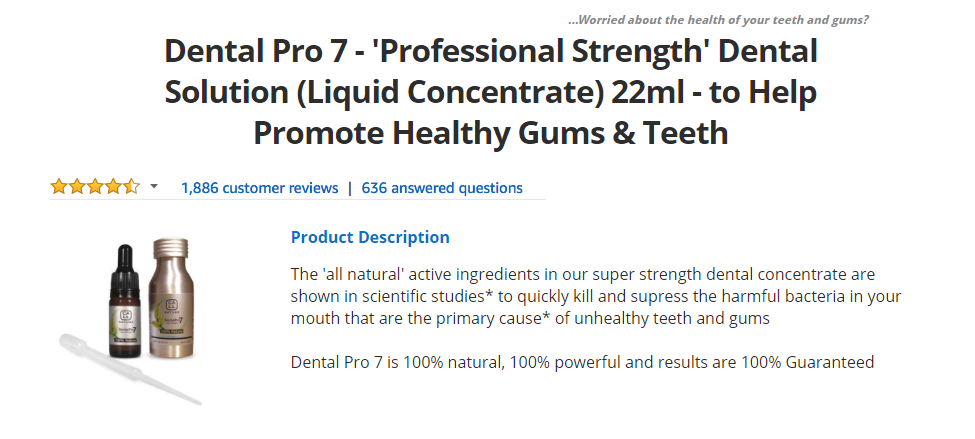 Dental Pro 7 Website