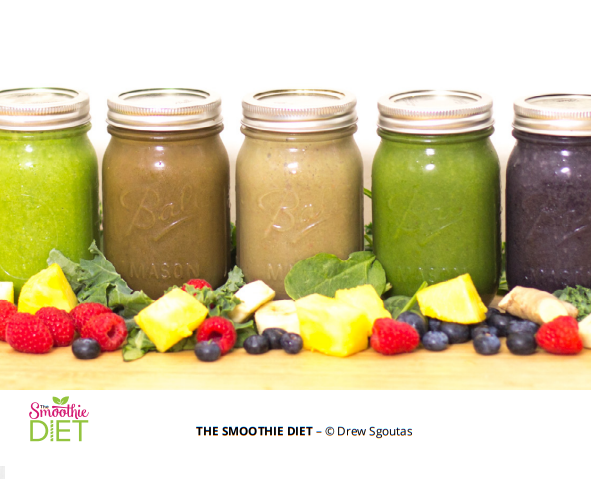 smoothie diet in a jar