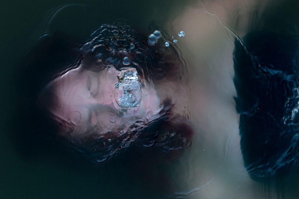 A Man in Underwater