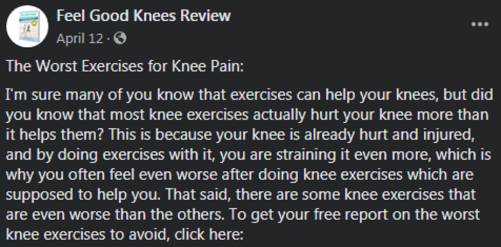 feel good knees