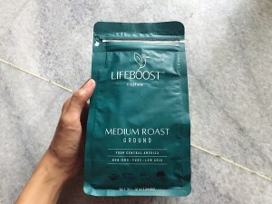 Lifeboost Coffee medium roast front