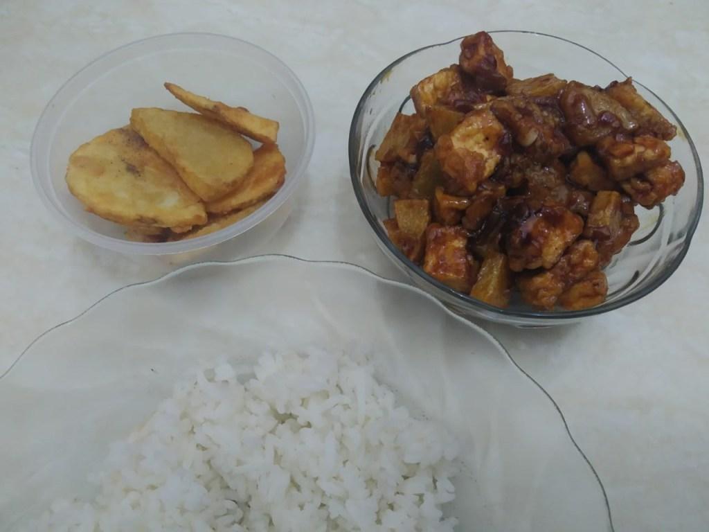 broiled sesame tofu