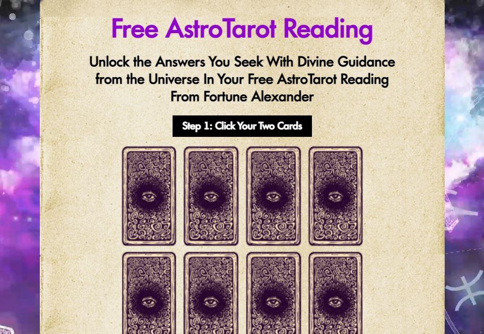 free tarot page astro tarot