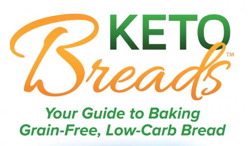 keto bread book by Kelley Herring