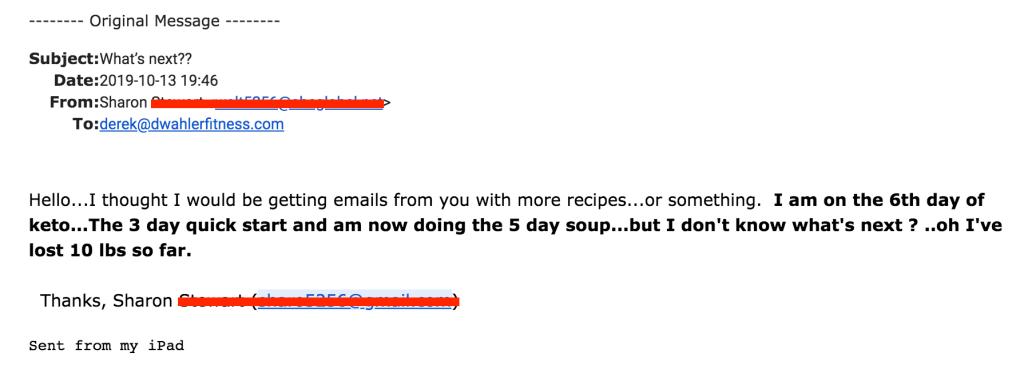 testimonial 14-day rapid soup diet