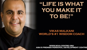 Life Wisdom Matrix with Vikas Malkani : How To Get the Universe on Your Side?